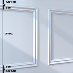 8409 Panel Moulding