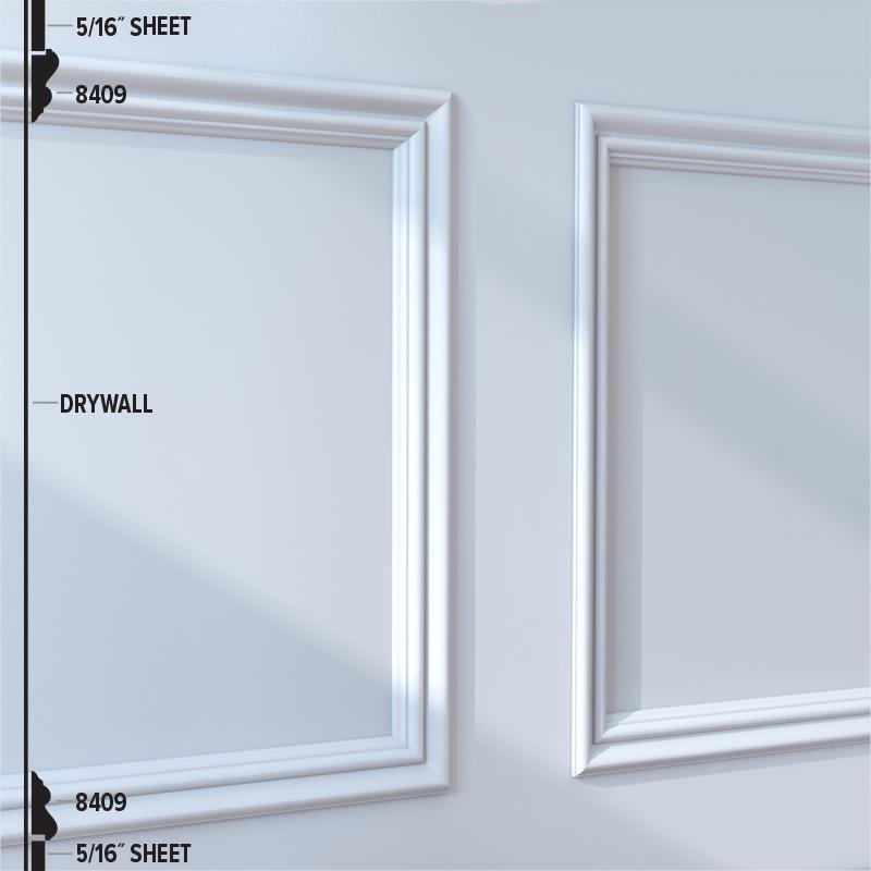 8409 Panel Moulding (45RB2)