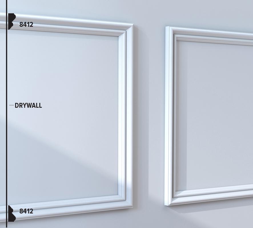8412 Panel Moulding (48B1)