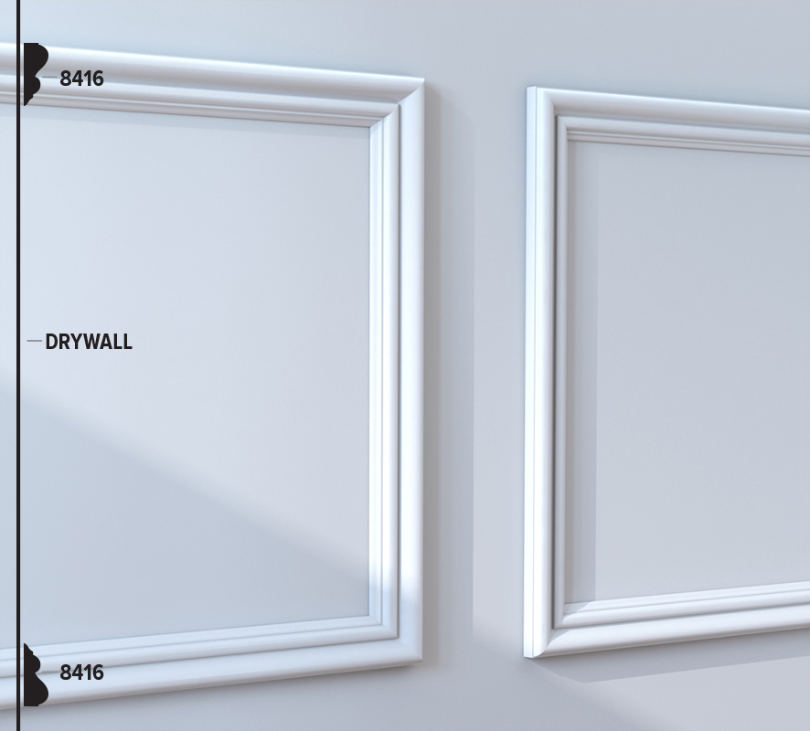 8416 Panel Moulding