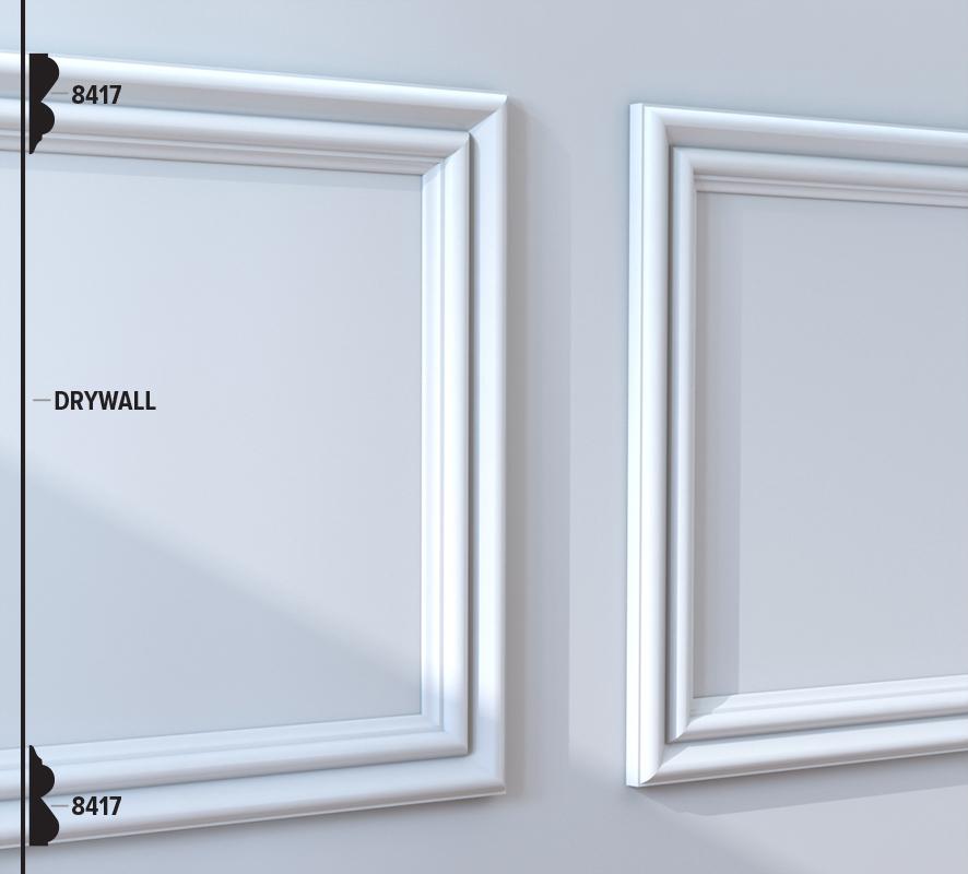 8417 Panel Moulding (49B8)