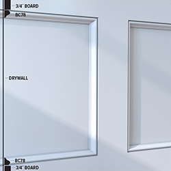 BC78 Panel Moulding