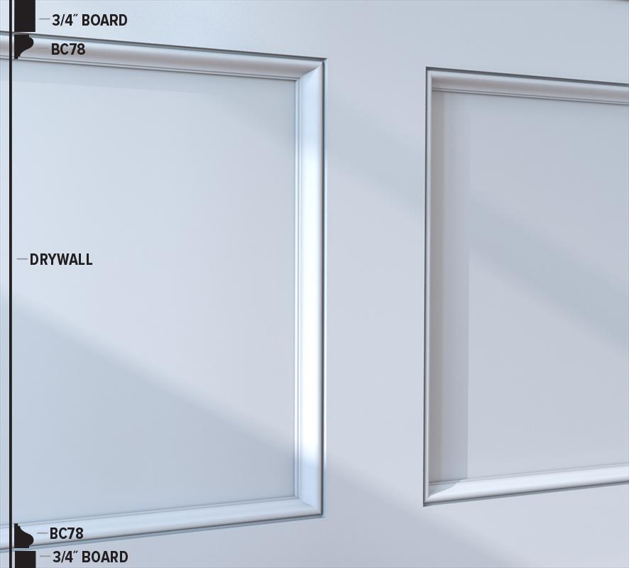 BC78 Panel Moulding (48B4)
