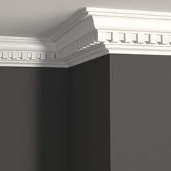 DTL334 Dentil Crown