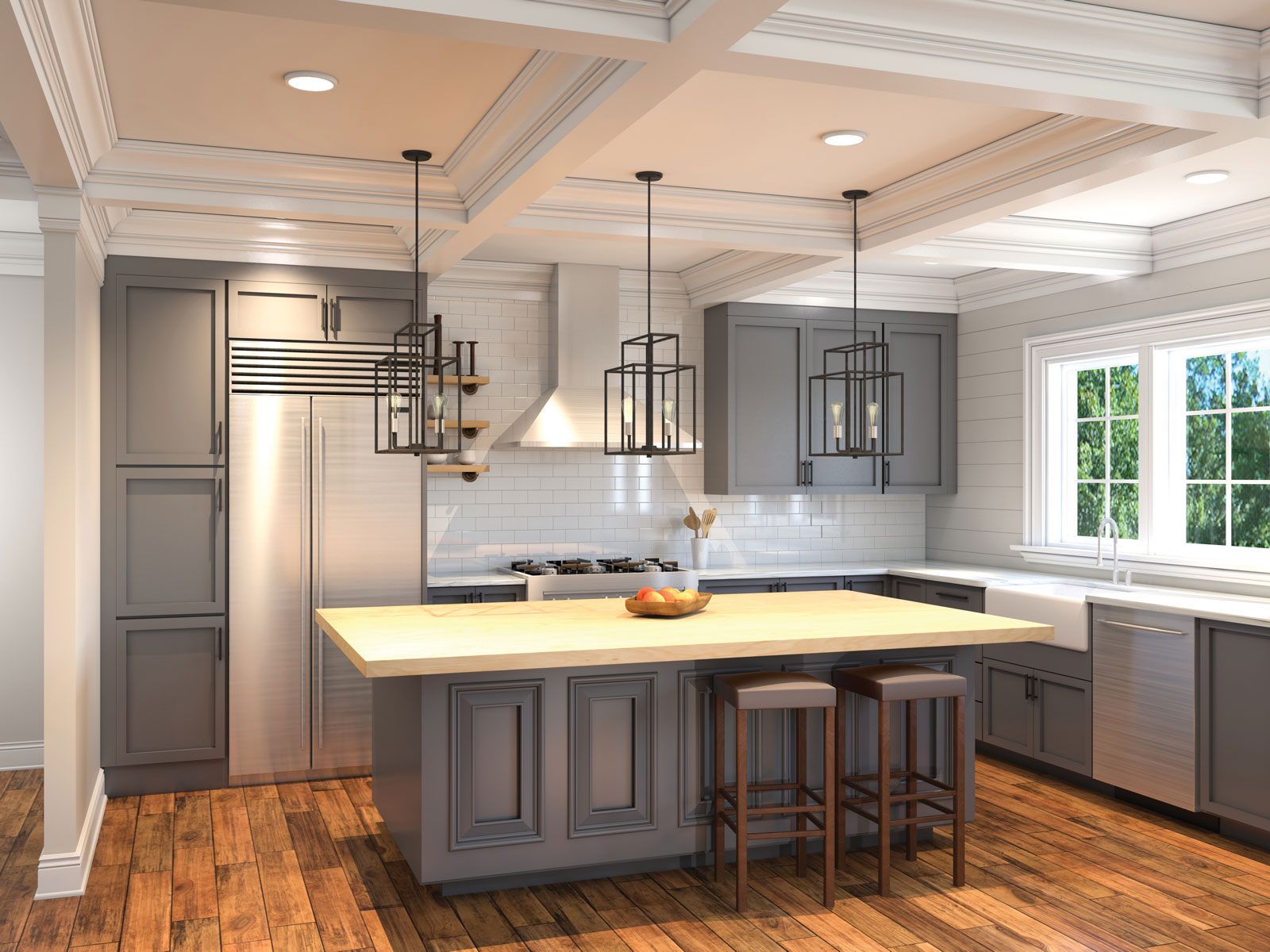 The Hampton – Estate Series Kitchen