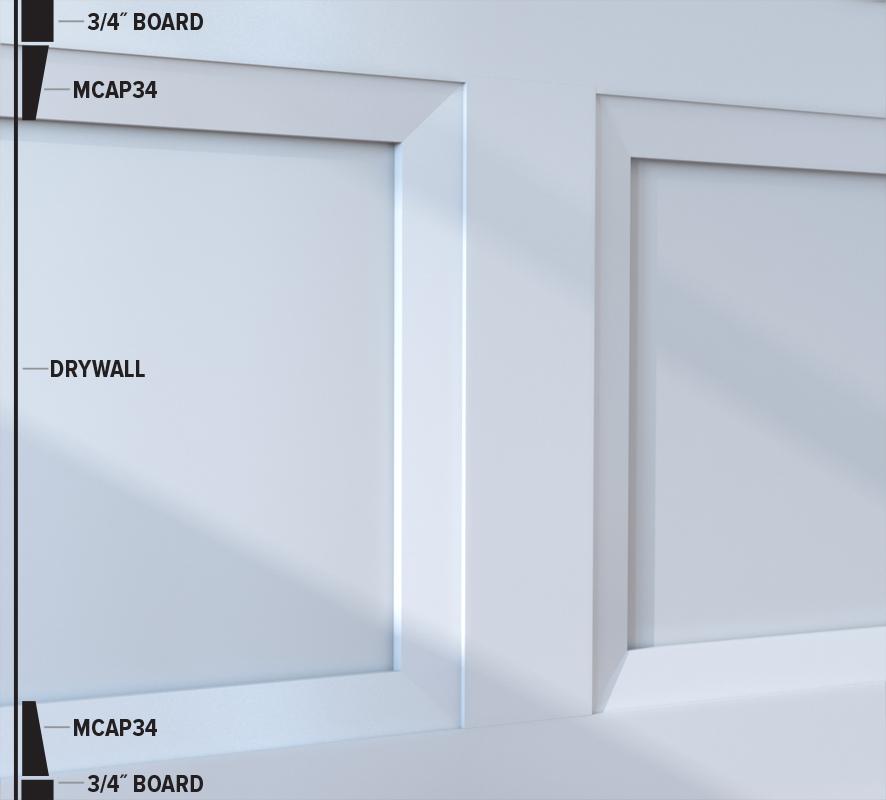 MCAP34 Panel Moulding (47MCAP34)