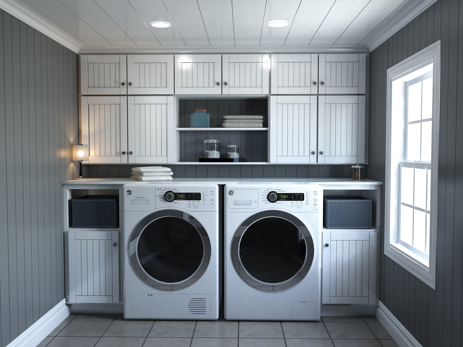 The Nantucket – Laundry Room