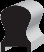 DL651 Keyhole Hand Rail