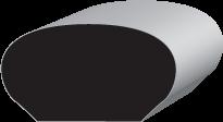 P329 Oval Hand Rail