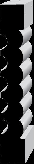 P714 Pilaster (31P2)