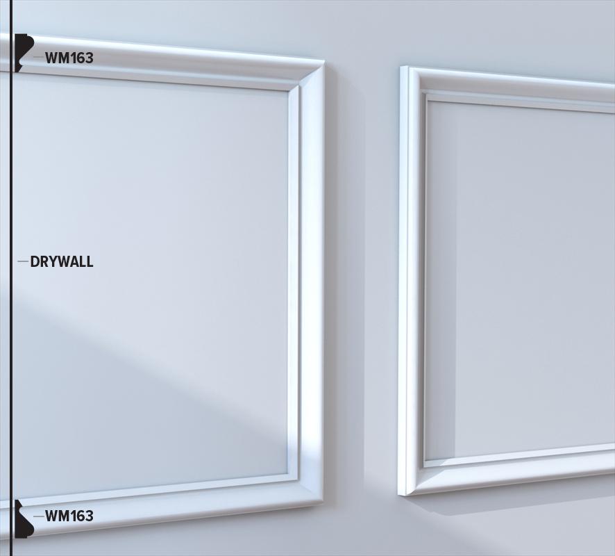 WM163 Panel Moulding (49B6)