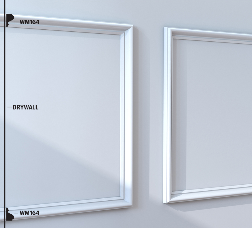WM164 Panel Moulding (48B5)