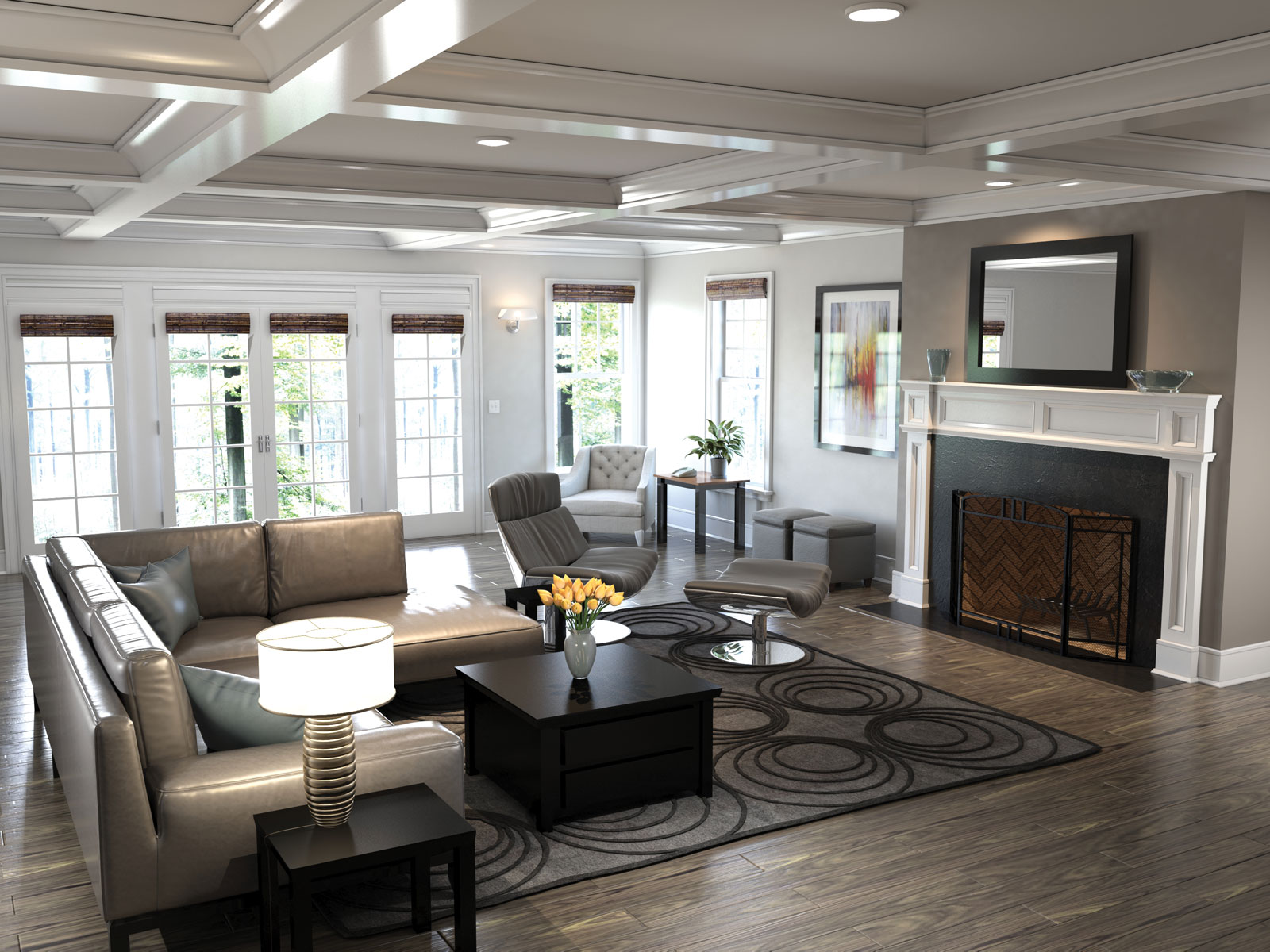 The Westport – Metro Collection Living Room