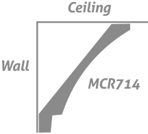 The Metro Collection: Crown MCR714 Step Cove – Wall Step