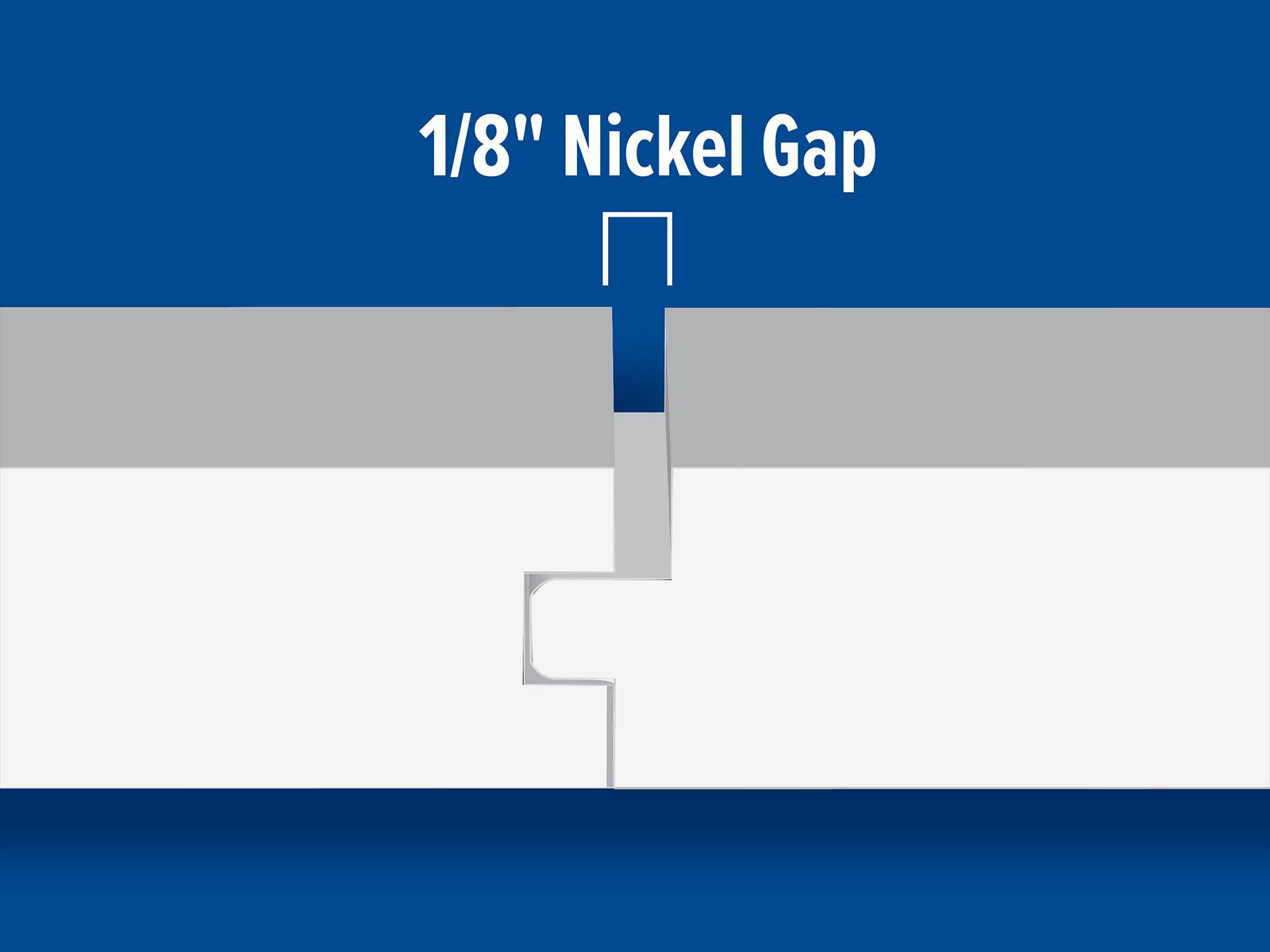 NG714 T&G Nickel Gap